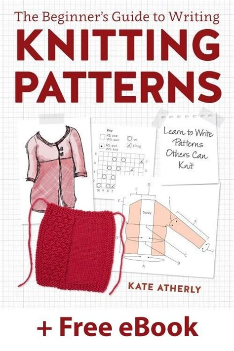 periwinkle pattern writing book the beginner s guide to writing knitting patterns learn