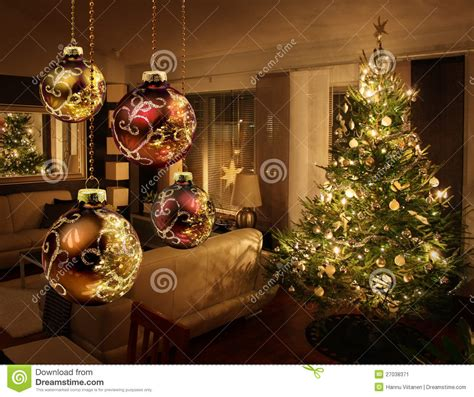 193 rbol de navidad en sala de estar moderna imagen de