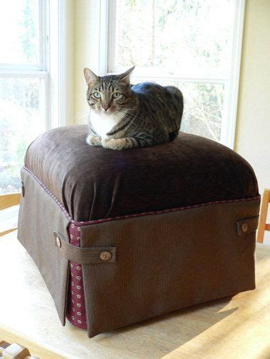 how to reupholster an ottoman how to reupholster an ottoman the pecks