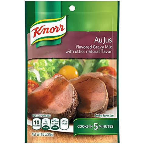 Mixer Jus knorr au jus gravy 6 ounce boxes pack of 12 ebay