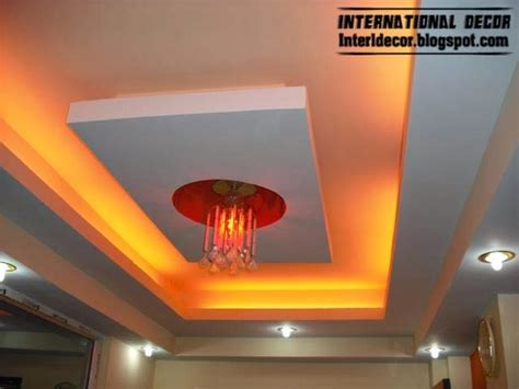 Ceiling Lights Designs False Ceiling Pop Designs With Led Ceiling Lighting Ideas 2014 International Decoration