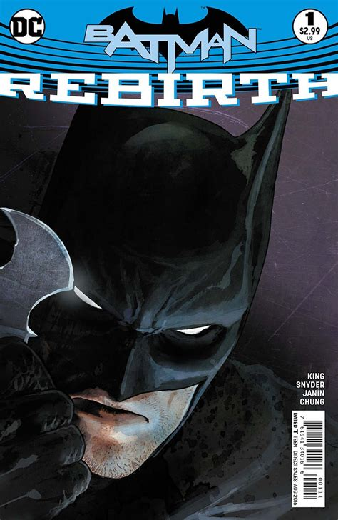 libro all star batman 2016 vol superman rebirth 1 batman rebirth 1 preview