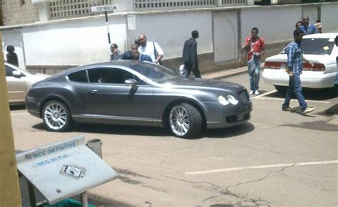 bentley kenya photo sh25 million bentley continental spotted in town