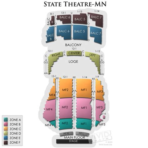 state theater mn seating chart state theatre minneapolis tickets state theatre