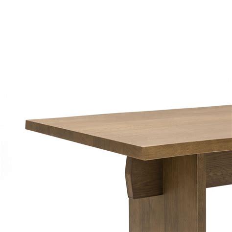 tavolo rovere tavolo rettangolare da pranzo con struttura e piano in