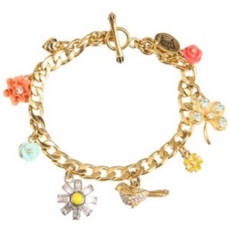 bracelets and charms couture charms floral hibiscus pave flower clover