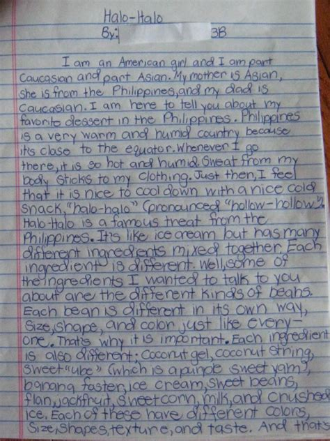 Grade My Essay by Black Sw Cornucopia Halo Halo Our S 3rd Grade Essay About Diversity