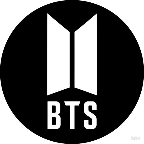 bts logo quot music bts bangtan beyond the scene quot stickers by