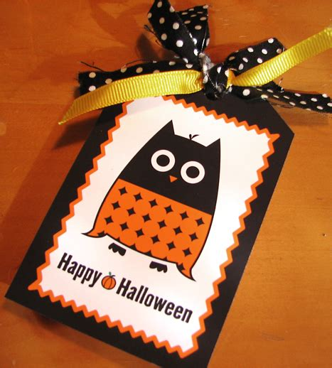 printable owl goodie bag free printable halloween owl gift tag