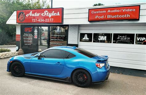 custom white subaru brz 2015 subaru brz custom sound system featuring a kenwood