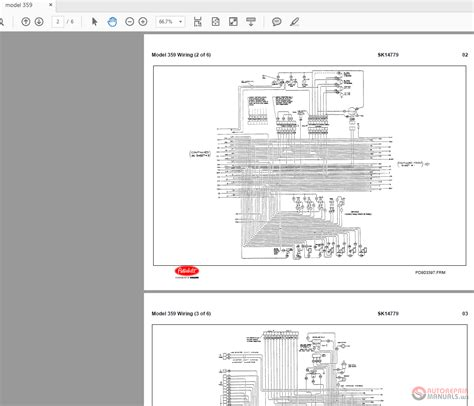 Peterbilt 359 Sk14779 Model Wiring Diagrams Auto Repair