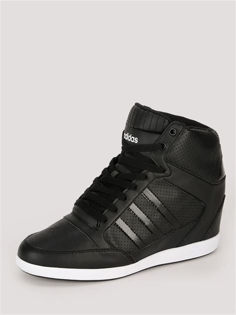 adidas wedge sneakers black buy adidas neo wedge trainers for s