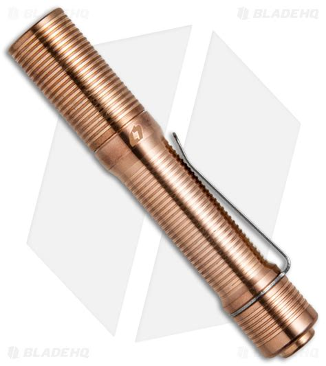 four sevens flashlights foursevens preon p1 copper flashlight cree xp l led 100