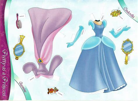 Miss Missy Paper Dolls All Dressed Up Disney Princess Paper Princess Printable