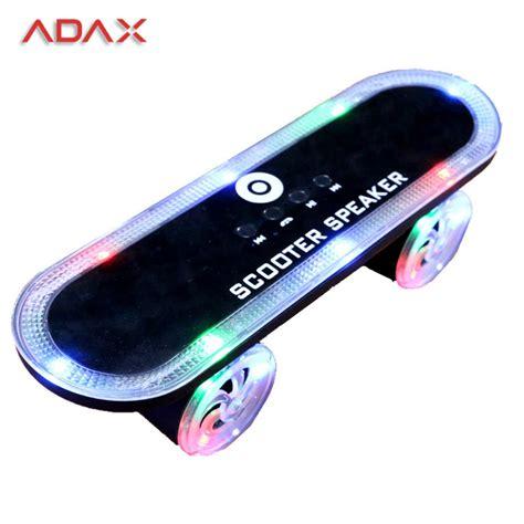 Skateboard Led Light Bluetooth Speaker mini portable speakers scooter skateboard bluetooth