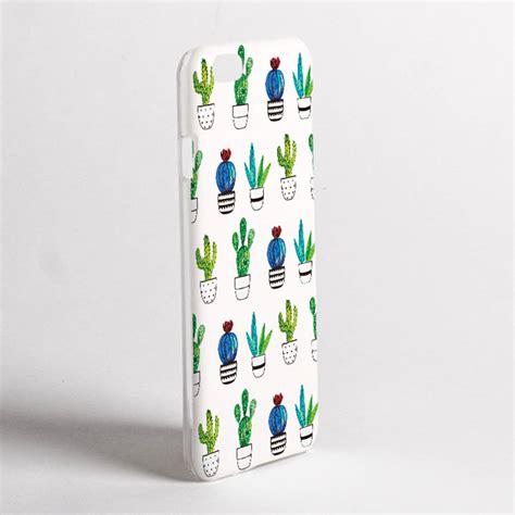 design photo case cactus print phone case by dessi designs