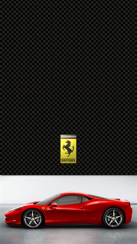 ferrari  italia lock screen iphone   hd wallpaper