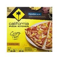 California Pizza Kitchen Margherita Pizza Calories by Newman S Own Thin Crispy Margherita Frozen Pizza From