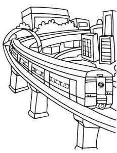 Delhi Metro Coloring Page  Download Free sketch template