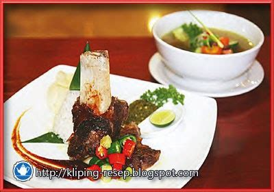 Bibit Jahe Merah Semarang resep soup iga bakar malabar ala chef mulyoko kliping resep