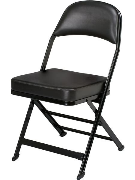 folding chairs padded seat and back 3000 series vinyl upholstered seat and back folding chair