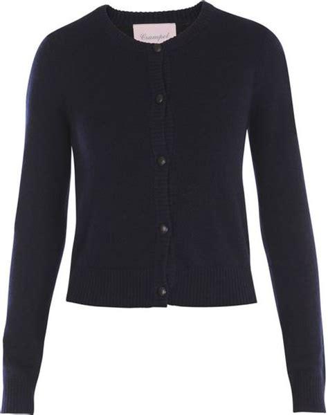 Crop Hoodie Jumper Jaket Nevy womens navy blue cropped cardigan sweater jacket