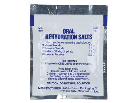 rehydration salts rehydration solutions
