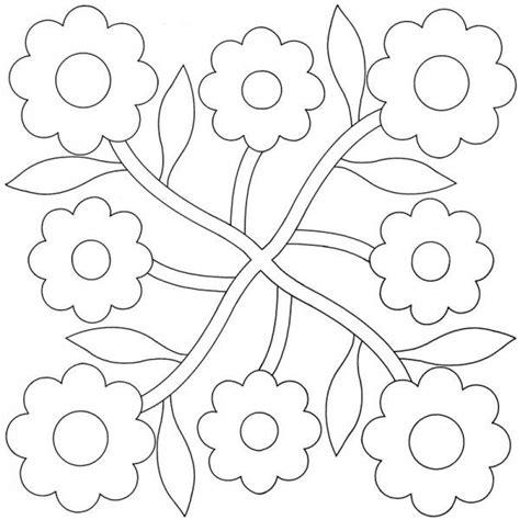 applique quilt pattern best 25 flower applique patterns ideas on