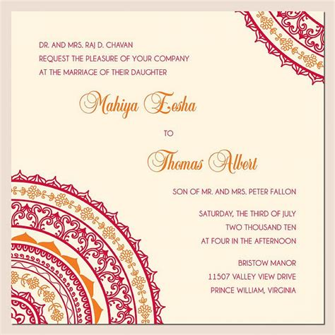 indian hindu wedding invitation cards templates wedding invitation wording ideas best wedding invitation