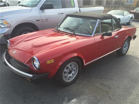 fiat 124 for sale fiat 124 spider for sale carsforsale