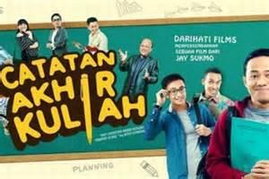 film komedi indonesia catatan akhir kuliah budi doremi isi soundtrack film catatan akhir kuliah