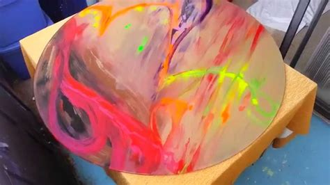 glass acrylic painting acrylic paint on glass youtube