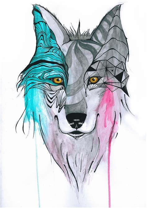 wolf tattoo tumblr temporal wolf by mime komics on deviantart