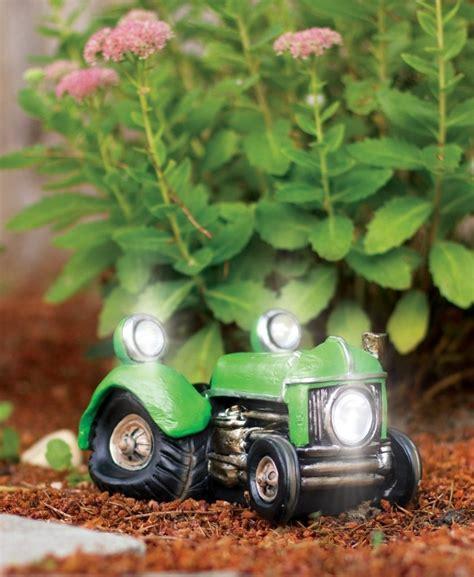 Solar Powered Garden Decor Solar Powered Vintage Tractor Vehicle Garden Decor Fresh Garden Decor