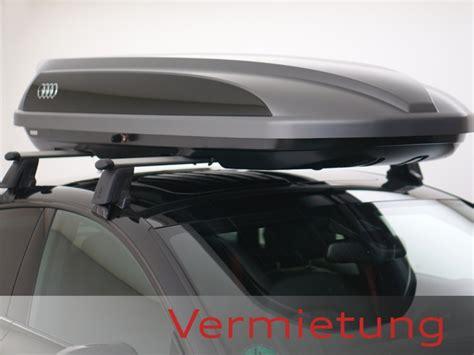 Audi A4 Dachbox by Audi Dachbox Mieten