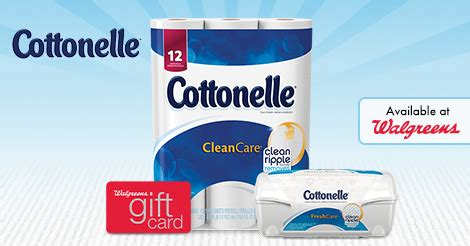 Cottonelle Sweepstakes - cottonelle 174 clean confidence sweepstakes ibotta offers at walgreens ftm