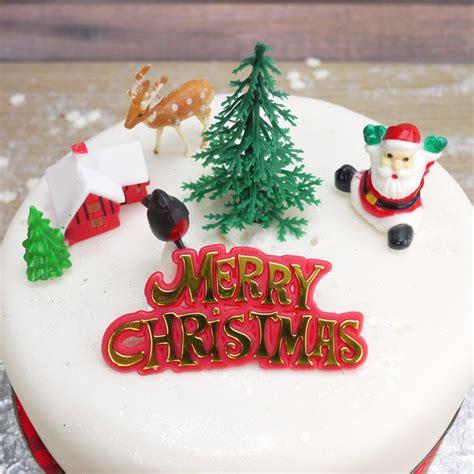 vintage christmas cake decorations billingsblessingbags org