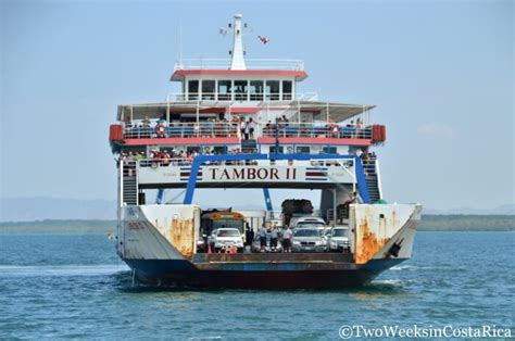 ferry cost taking the puntarenas paquera ferry two weeks in costa rica