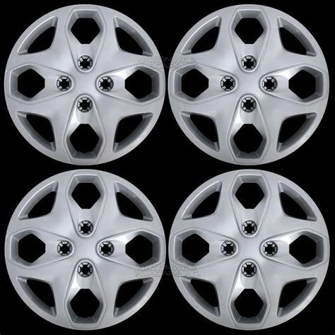 set      ford fiesta  wheel covers hub caps full rim tire hubs ebay