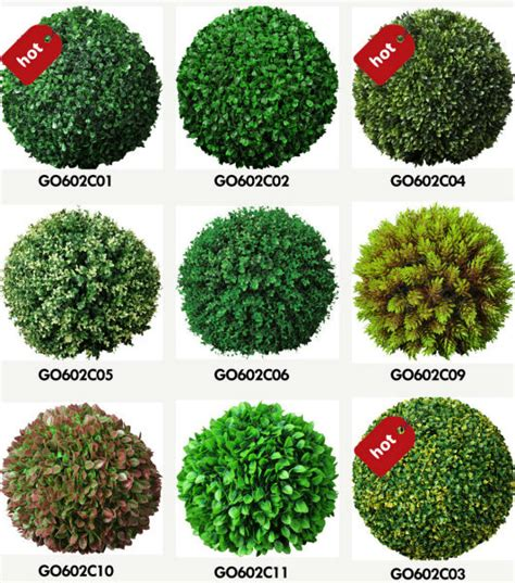 Artificial Outdoor Topiary - sunwing artificial grass ball tree double topiary ball tree buy double topiary ball tree