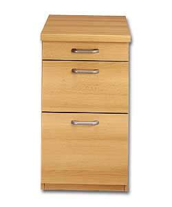 Dresser Drawer Amos by Beech 3 Drawer Pedestal With Filing Darwer Office