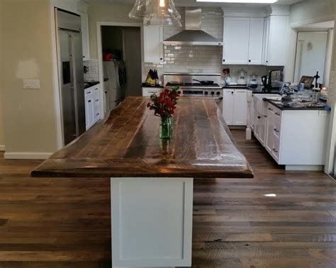 wood top kitchen island u s reclaimedu s reclaimed