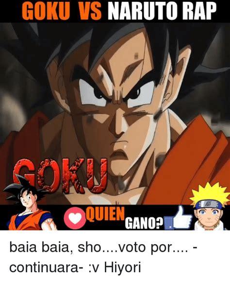 Naruto Vs Goku Meme - memes for goku vs naruto meme www memesbot com