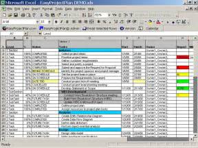 excel project plan templates project planning template e commercewordpress