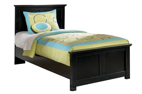 twin bed black maribel black twin bed at gardner white