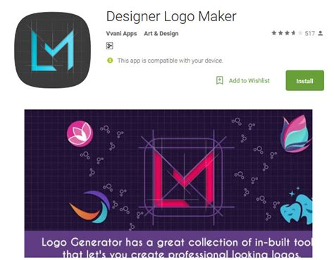 design app logo android top 10 logo apps for android to design free logos andy tips