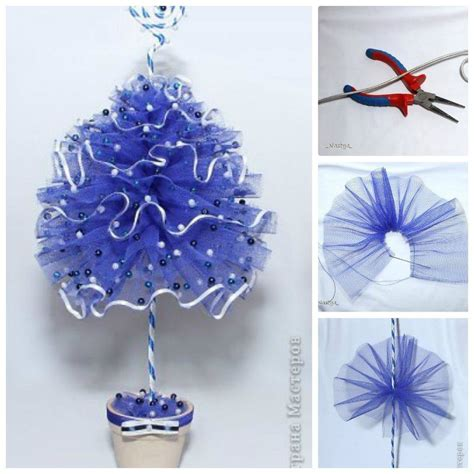 diy decorations ribbon wonderful diy mesh ribbon tree