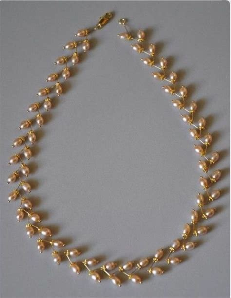 how to make gold beaded jewelry best 25 indian jewellery design ideas on