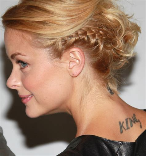 jaime king tattoo more pics of jaime king artistic design 3 of 12