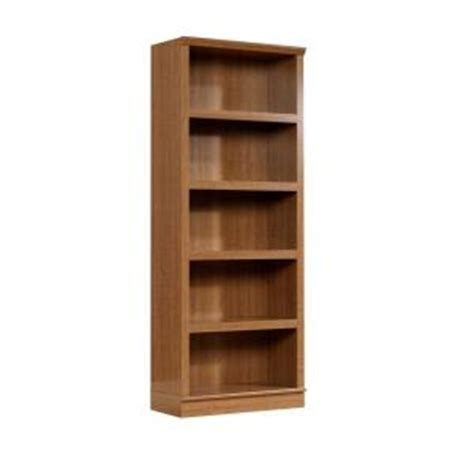 Sauder Homeplus Collection Sienna Oak 5 Shelf Bookcase Sauder Oak Bookcase